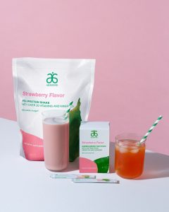 Arbonne Strawberry Shake and Fizz Sticks